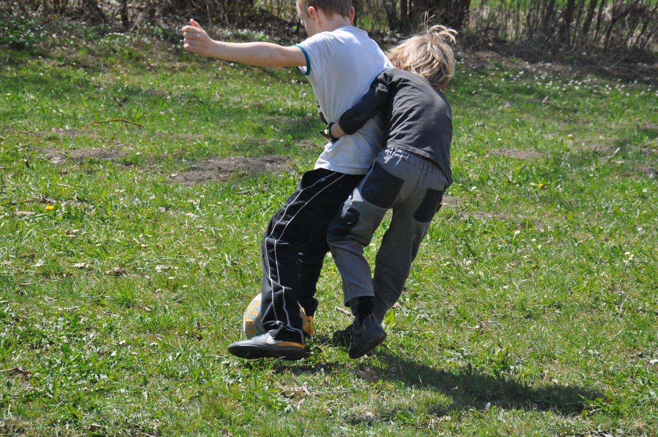 Fussball mit Einsatz